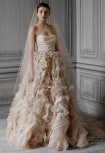 Monique Lhuillier Blush Wedding Dresses Naf Dresses
