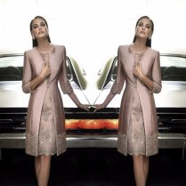Mother Of The Bride Dresses With Jacket 2016 Couture Wedding Guest