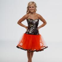 Short Orange And Camo Bridesmaid Dresses Naf Dresses