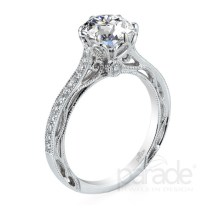 Beautiful Diamond Solitaire Engagement Ring By Designer Parade