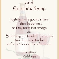 Wedding Invite Format