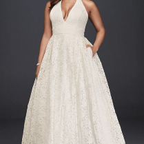 35 Designer Plus Size Wedding Dresses We Love