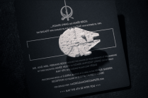 Star Wars Wedding Invitation Trumps All Other Invitations Bit