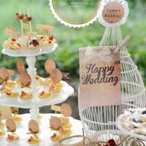 Kara's Party Ideas Outdoor Vintage Wedding Party Planning Ideas