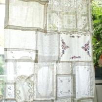 Vintage Lace Curtains 2018 Shower Curtains Thermal Curtains