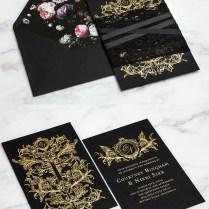 Striking Wedding Invitations