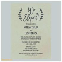 Ideas Wedding Reception Invitation After Eloping And Beautiful