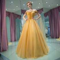 Yellow Mother Of The Bride Dresses For Weddings Beaded Off