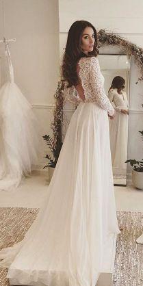 30 Rustic Wedding Dresses For Inspiration