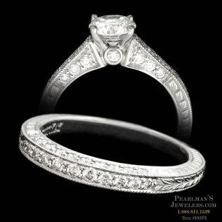 Scott Kay Jewelry Scott Kay Vintage Engagement And Matching Band