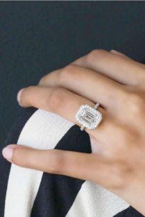 Vintage Emerald Cut Engagement Rings Emerald Cut Engagement Rings