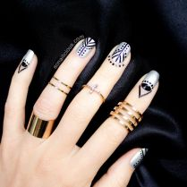 Cuticle Nail Art Are You In