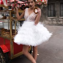 Short Wedding Dress Alisia By Blammo
