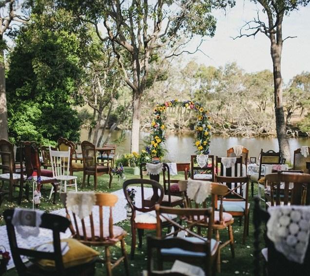 A Sweet Vintage Backyard Wedding Full Of Diy Details