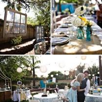 Real Wedding Catie Ben's Vintage Inspired Backyard Wedding