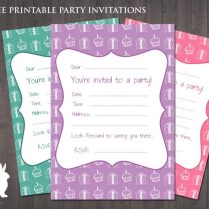 Birthday Party Invitations Online Printable Invitation Maker