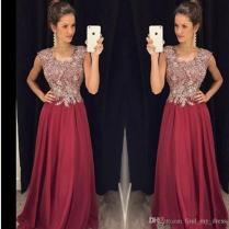 Bling Bling A Line Mother Of The Bride Dresses 2017 Bateau