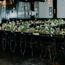Trend Alert 24 Ways To Use Black Details In Your Wedding Decor