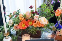 Colorful Spring Centerpiece, Wild Garden Centerpiece, Cira Center