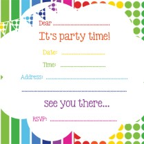 Free Party Invitations From Rubyandtherabbit And Get Inspired To
