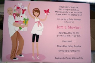 Funny Couples Baby Shower Invitations Funny Coed Ba Shower Themes