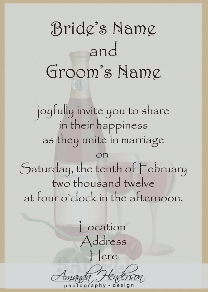 invitation wordings for sister marriage