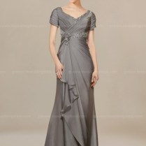 Modern Mother Of Bride Dresses With Sleeves $148