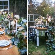 Beautiful Vintage Backyard Wedding