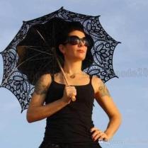 Vintage Lace Parasol Umbrella For Wedding Party Bridal Lace