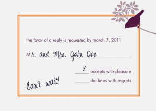 33 Pic Reply To Wedding Invitation Most Popular – Co Wedding Tales