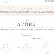 15 Luxury Semi Formal Attire Wedding Invitation Wording Images