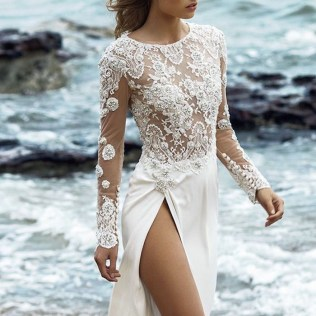 Sexy Wedding Dresses With Hottest Details