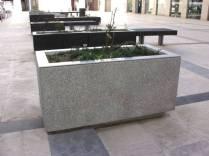Simple Planter Box Design Simple Rectangle Shaped Concrete Planter