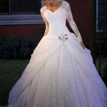 Wedding Gowns Under 500 Elegant Discount Long Sleeve Lace Corset