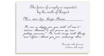 Wedding Invitation Response Etiquette Bellinvito Blog Mind Your