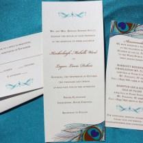 The Modification Of Peacock Wedding Invitations