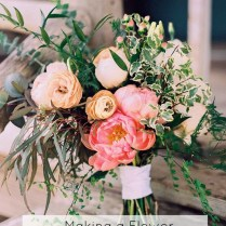 Making Your Own Rustic Flower Bouquet
