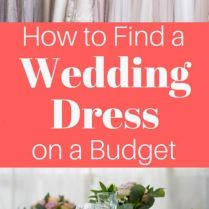 How To Find Your Dream Wedding Dress On A Budget