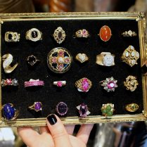 Gem Gossip Visits Pippin Vintage Jewelry In Nyc