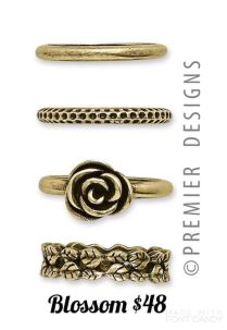 Blossom Ring Set Premier Designs Jewelry