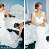 Ginger Zee's Wedding Gown