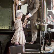 Vintage Railroad Inspired Engagement Shoot