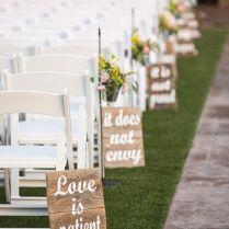 Love Is Patient, Love Is Kind Weddingdecor