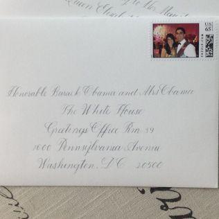 Amazing White House Wedding Invitation