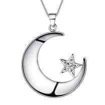 Detail Feedback Questions About Beautiful Design Silver Moon Star