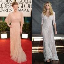 Scarlett Johansson Pregnant Maternity Wedding Dresses