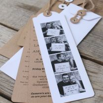 Photo Booth Wedding Invitations You Have The Photos Taken