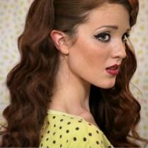 The Freckled Fox Sweetheart Hair Week Tutorial 1