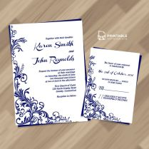 219 Best Wedding Invitation Templates Free Images On Emasscraft Org