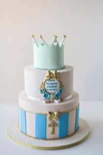 Christening Cake By Dimi's Sweet Art